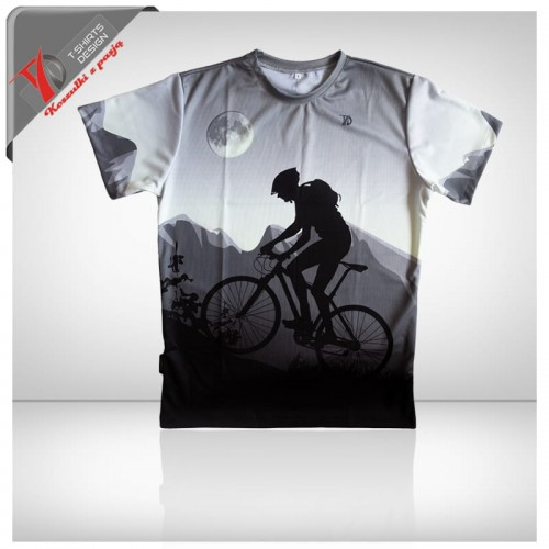 T Shirt Mountain Bike T Shirts Design Koszulki Z Pasja